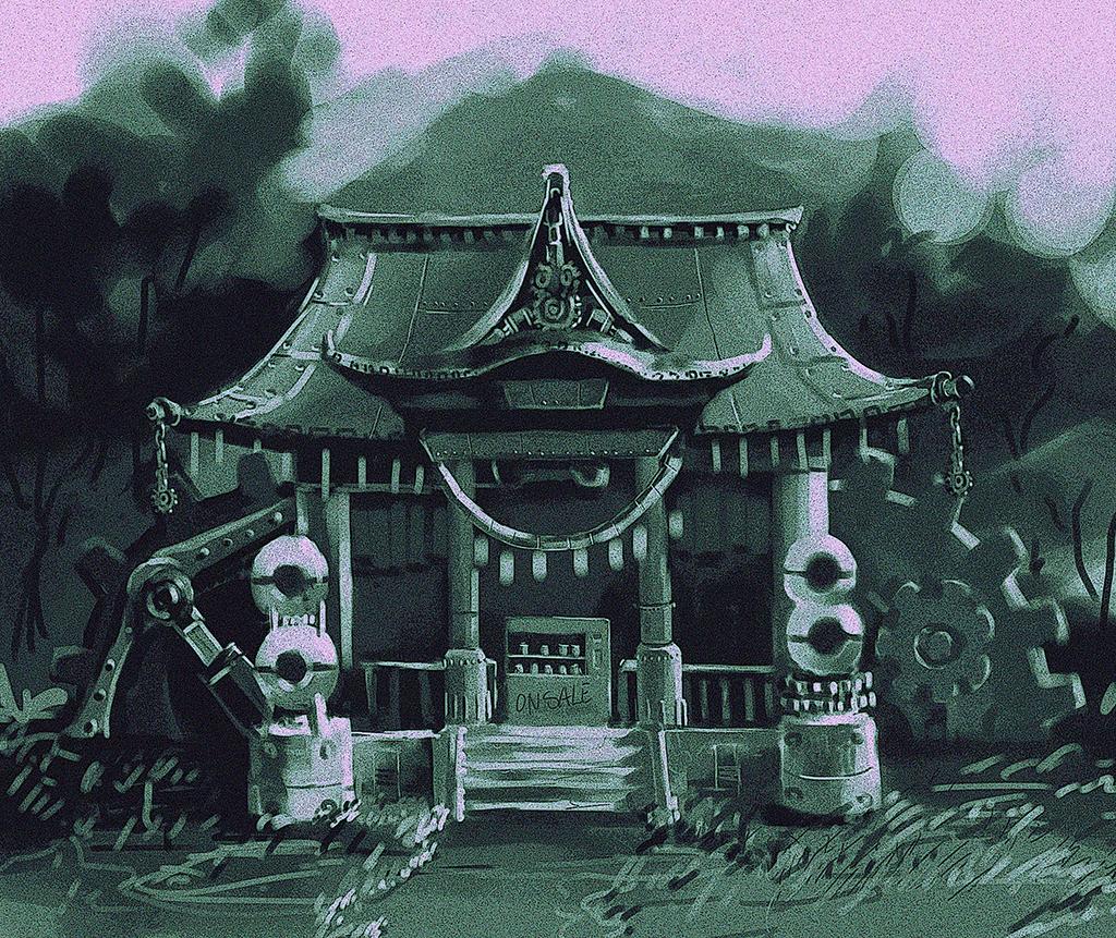 Mechanical Shrine Demo